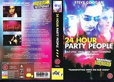 24 Hour Party People, Steve Coogan Video Promo Sample Sleeve/Cover #15654