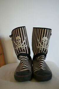 Rocket Dogs Pirate Boots Size 6 Brown and Black