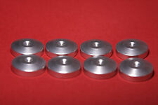 "Audio Spike Cone base stand Isolation Disc Set of 8 - 1""  Diameter Silver"