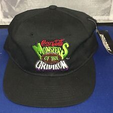 Vintage Coca Cola Monsters Of The Gridiron SnapBack Hat New Old Stock