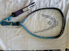 "Head Racquetball Racquet With Case & Ektelon  Strap 10"" Wide By 14"" Tall Face"