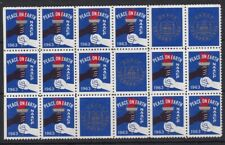 Auc1052) Usa Cinderellas 1963 Naacp Peace on Earth Labels