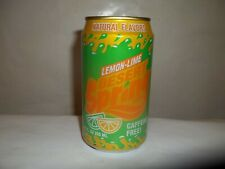 DESERT SPRING LEMON LIME SODA W/ GOLD TOP LID SODA POP CAN