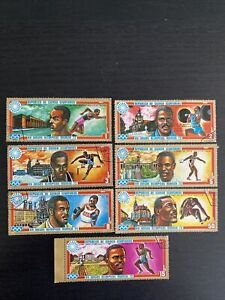 Equatorial Guinea 1972 - Olympic Games Munich Germany Set Of 7 Used