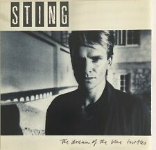 STING THE DREAM OF THE BLUE TURTLES CD A&M 1985 AUDIO MASTER PLUS USA PRESS