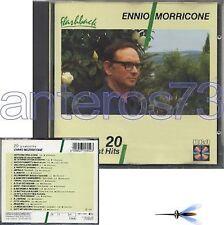 "ENNIO MORRICONE ""20 GREATEST HITS"" RARO CD 1987"
