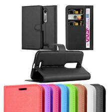 Case for Motorola MOTO X FORCE Phone Cover Protective Book Kick Stand