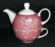 Creative Tops  Porcelain Tea For One Teapot And Cup
