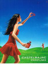 PUBLICITE ADVERTISING 104  2001   JEAN CHARLES DE CASTELBAJAC  parfums