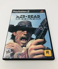 RED DEAD REVOLVER (Sony PlayStation 2, 2004) COMPLETE PS2