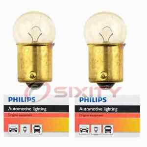 2 pc Philips Tail Light Bulbs for Bertone X-1 9 1984-1989 Electrical if