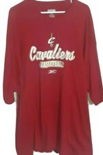 NBA Cleveland Cavaliers Team Logo Graphic Shirt By Reebok! Adult 2XL.