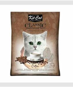 10L Kit Cat. Cat Litter Sand. KitCat - Coffee