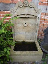 Natursteinbrunnen, Wandbrunnen, Gartenbrunnen, Brunnen, Zierbrunnen,