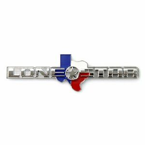 Texas LONE STAR EDITION Emblem - Fits All Mopar Dodge RAM Truck Gate Universal
