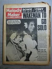 MELODY MAKER 13th October 1973 ~ Alice Cooper ~ Slade ~ Eric Clapton ~ CCR!
