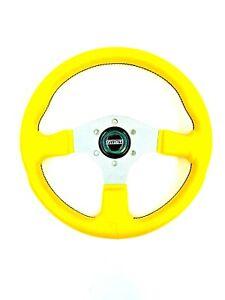 Fiat 128 X19 124 500 600 850 Spider Abarth Steering Wheel 13.5 inch -NEW- #358