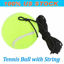 Tennis Training Ball w/ 4m Elastic Rope Ball On Elastic String Trainer Practice