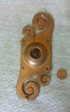 Door Bell Electric Art Nouveau Bronze Antique