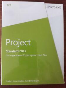 Microsoft Office Project Standard 2013 Vollversion PKC deutsch 076-05073  NEU