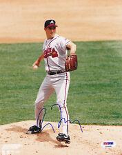 Greg Maddux SIGNED 8x10 Photo Atlanta Braves PSA/DNA AUTOGRAPHED