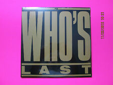 Who's Last 33 rpm ALBUM >>> FACTORY SEALED <<< BRAND NEW <<< NEVER USED <<< MINT