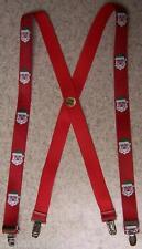 """Suspenders Children & Junior 1""""x36"""" FULLY Elastic Christmas Santa Claus NEW"""