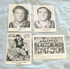 1967 DAILY MIRROR RUGBY LEAGUE PHOTO CARDS - NORTH SYDNEY  BEARS