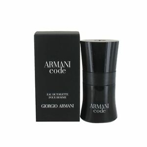 Giorgio Armani Code 30ml Eau de Toilette Spray for Men - New
