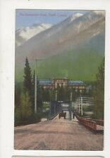 The Sanatorium Hotel Banff Canada Vintage Postcard 935a