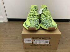 BRAND NEW Adidas Yeezy Boost 350 V2 Semi Frozen Yellow Gum Red B37572 Size 11