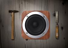 Practical Wooden Stereo Bluetooth Speaker Super Bass Subwoofer FM Radio