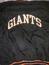 VINTAGE 90'S SAN FRANCISCO GIANTS STARTER JACKET .. XL Pullover Satin