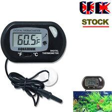 LCD Digital Fish Aquarium Water Tank Thermometer UK SELLER