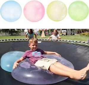 Large Wubble Bubble Ball Firm Water Balloons Inflatable Soft Refillable Stretch