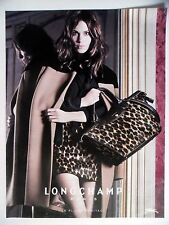 PUBLICITE-ADVERTISING :  LONGCHAMP Pliage Héritage 2014 Alexa Chung,Maroquinerie