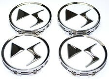 Citroen DS3 DS4 DS5 White Alloy Wheel Centre Cap Set of 4 New Genuine 1615661080