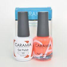 Caramia Gel Polish 15 mL & Nail Lacquer 13.5 mL Color 101