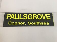 """Hoeford / Portsmouth Bus Blind May99 2 36""""- Paulsgrove Copnor Southsea"""