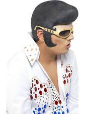 Látex Elvis Accesorio para Pelo Hombre con Licencia Accesorio de Disfraz Máscara
