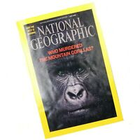 National Geographic Who Murdered the Mountain Gorillas West is Burning July 2008