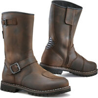 TCX Fuel GTX WP Waterproof Motorcycle Motorbike CE Full Leather Boots - Brown