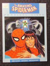 1989 AMAZING SPIDER-MAN Parallel Lives NM 9.4 Marvel Graphic Novel