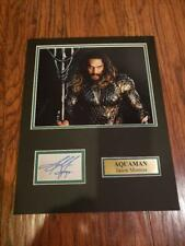 Aquaman Jason Momoa Autographed Reprint Autograph 8x10 Photo