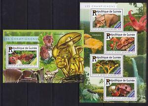 Guinea - 2015 Mushrooms / Champignons / Pilze - timbres / Briefmarken  MNH** WF