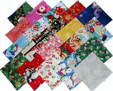 "20 10"" Christmas Quilting Fabric Layer Cake Squares Christmas !! NEW ITEM"