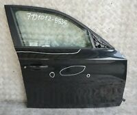 BMW 1 Series 36 E87 Door Front Right O/S Black Sapphire Metallic - 475