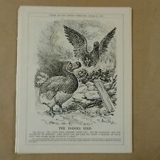 "7x10"" punch cartoon 1928 THE DODORA BIRD dora"