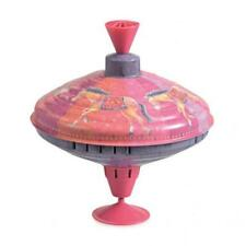 Spinning Top Large 19cm Circus Rider Design Quality Metal Humming Noise Egmont