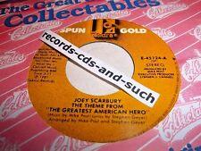 JOEY SCARBURY-GREATEST AMERICAN HERO/MIKE POST-HILL STREET BLUES-ELEKTRA NM 45